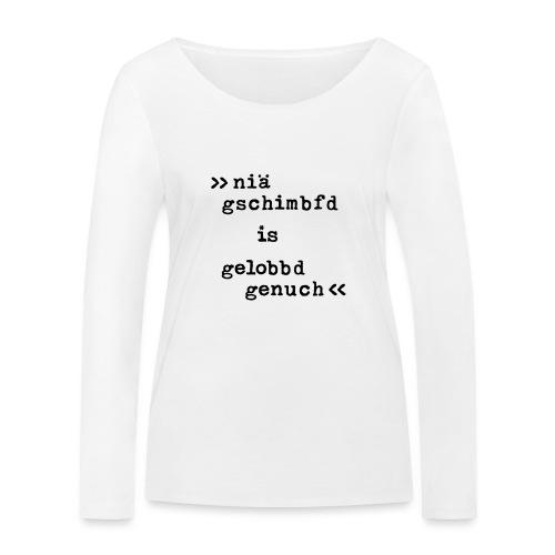 Gelobbd - Frauen Bio-Langarmshirt von Stanley & Stella