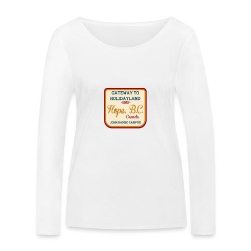 Rambo Hope Holidayland - Ekologiczna koszulka damska z długim rękawem Stanley & Stella