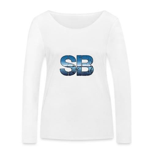 SB Logo - Økologisk Stanley & Stella langærmet T-shirt til damer