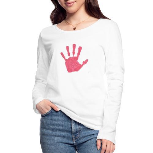 Hand - Ekologisk långärmad T-shirt dam från Stanley & Stella
