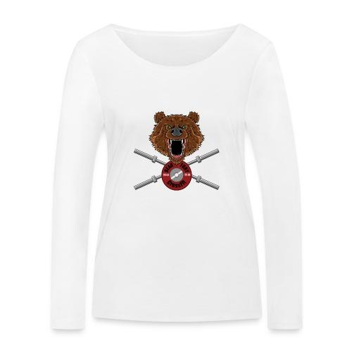 Bear Fury Crossfit - T-shirt manches longues bio Stanley & Stella Femme
