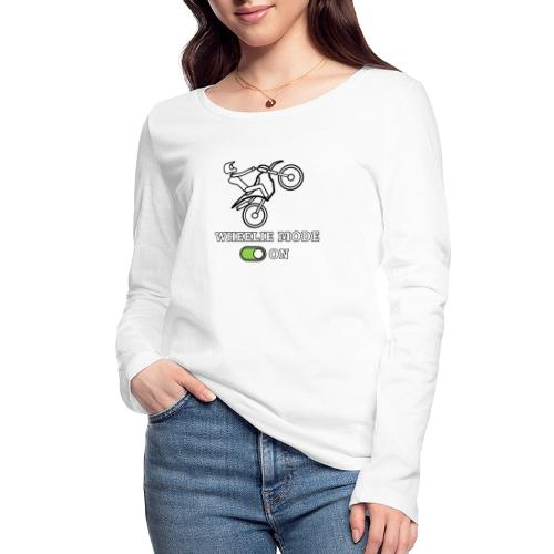 wheelie - Maglietta a manica lunga ecologica da donna di Stanley & Stella