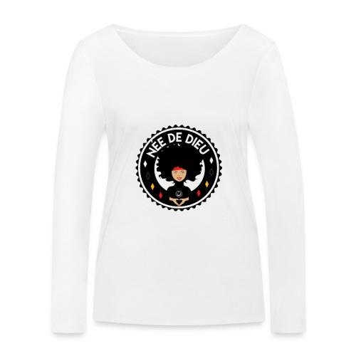 Née de Dieu - T-shirt manches longues bio Stanley & Stella Femme