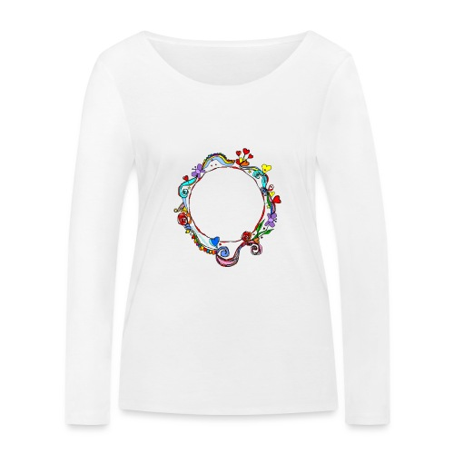 HerzensKreis - Frauen Bio-Langarmshirt von Stanley & Stella