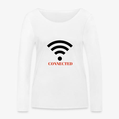 CONNECTED - Ekologisk långärmad T-shirt dam från Stanley & Stella