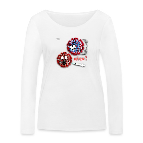 The vaccine ... and now? - T-shirt manches longues bio Stanley & Stella Femme
