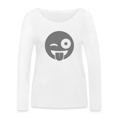 Emoji - Frauen Bio-Langarmshirt von Stanley & Stella