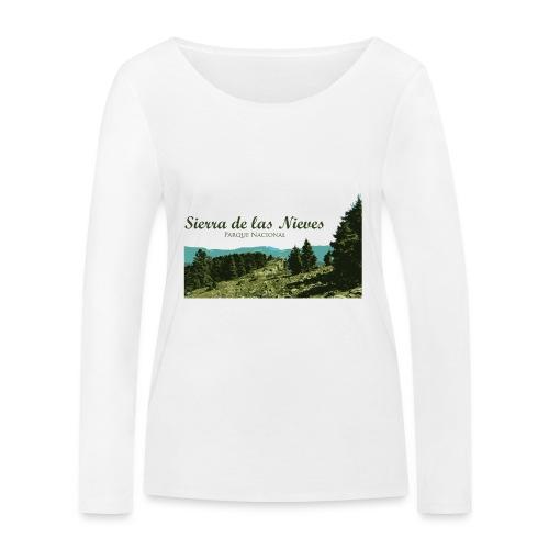 Sierra de las Nieves Parque Nacional - Camiseta de manga larga ecológica mujer de Stanley & Stella