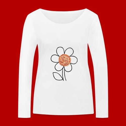 Pizzaflower Edition - Frauen Bio-Langarmshirt von Stanley & Stella