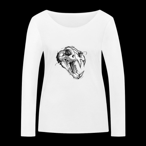 Teschio Tigre - Maglietta a manica lunga ecologica da donna di Stanley & Stella
