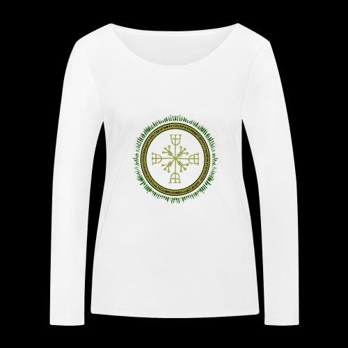 Norse Runes with Aegishjalmur 2017 - Women's Organic Longsleeve Shirt by Stanley & Stella