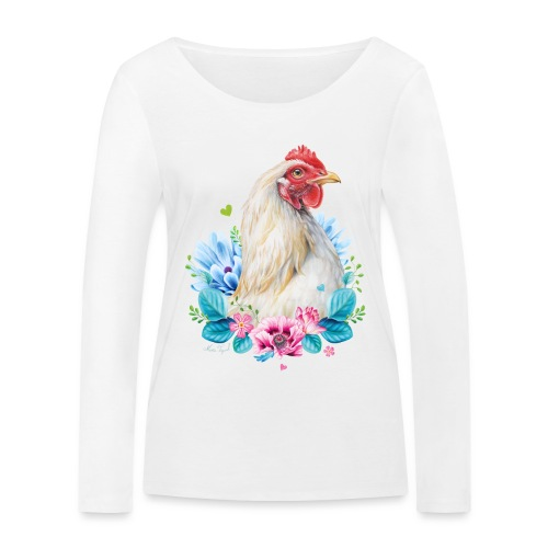 Them without text - Women's Organic Longsleeve Shirt by Stanley & Stella