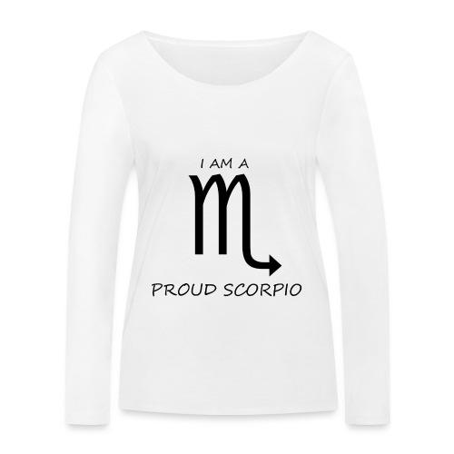SCORPIO - Women's Organic Longsleeve Shirt by Stanley & Stella