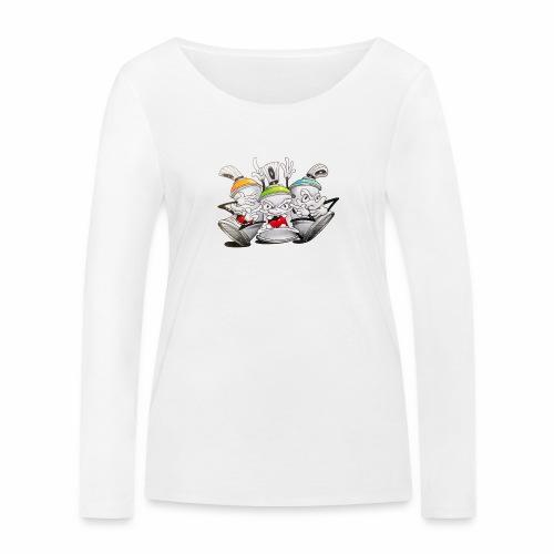 Dont ! Tim Timmey - Økologisk Stanley & Stella langærmet T-shirt til damer