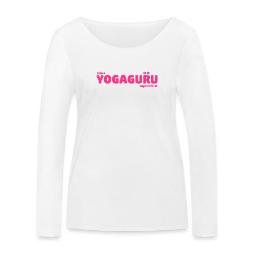 supatrüfö YOGAGURU - Frauen Bio-Langarmshirt von Stanley & Stella