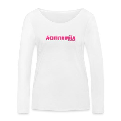 achtltrinka - Frauen Bio-Langarmshirt von Stanley & Stella