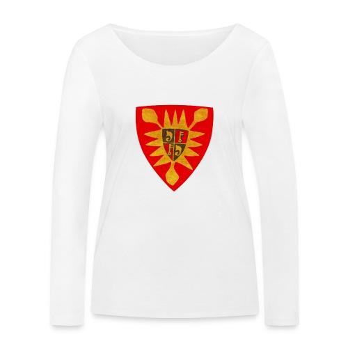 Exten Wappen Tasse - Frauen Bio-Langarmshirt von Stanley & Stella