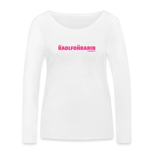 supatrüfö radlfohrarin - Frauen Bio-Langarmshirt von Stanley & Stella