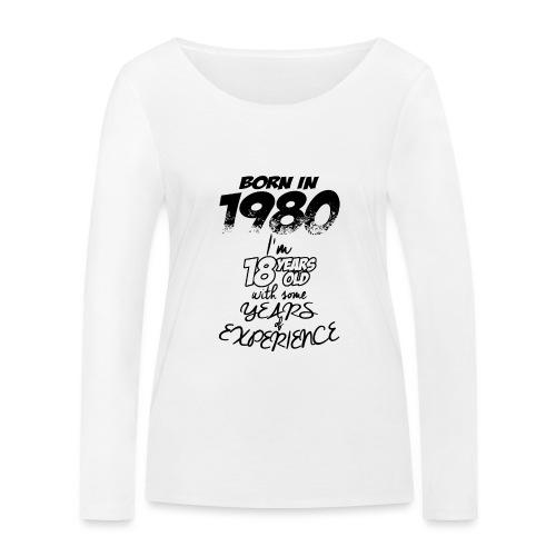 born In1980 - Women's Organic Longsleeve Shirt by Stanley & Stella