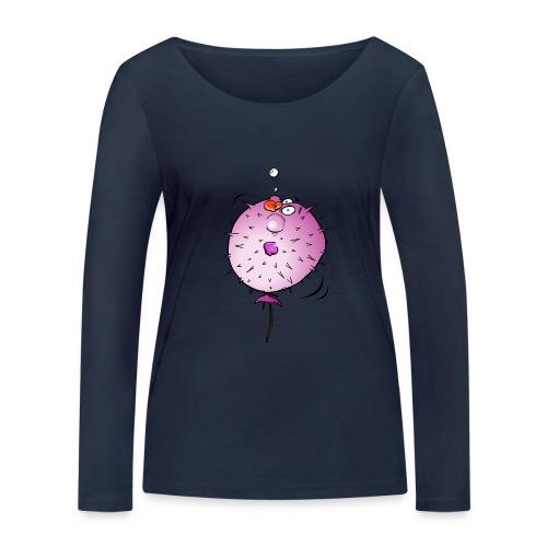 Blaasvis - Vrouwen bio shirt met lange mouwen van Stanley & Stella
