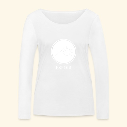 Espoir sun and waves - Women's Organic Longsleeve Shirt by Stanley & Stella