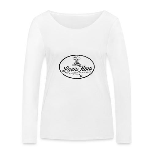 Hawaii Lavaflow Vintage - Frauen Bio-Langarmshirt von Stanley & Stella