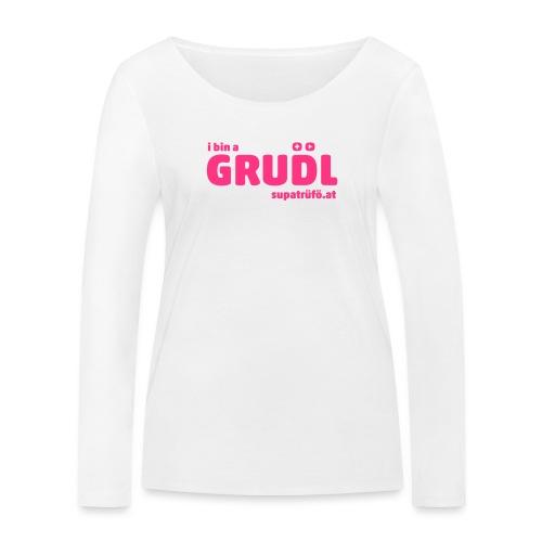 supatrüfö grudl - Frauen Bio-Langarmshirt von Stanley & Stella