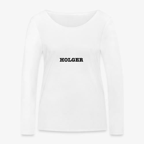 Holger TS herre - Økologisk Stanley & Stella langærmet T-shirt til damer