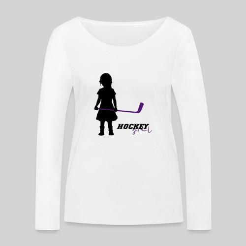 Hockey Girl I - Frauen Bio-Langarmshirt von Stanley & Stella