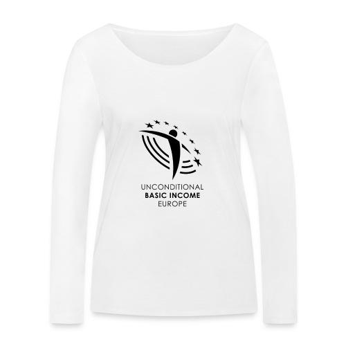 05 ubie gs stylized on white centered png - Vrouwen bio shirt met lange mouwen van Stanley & Stella