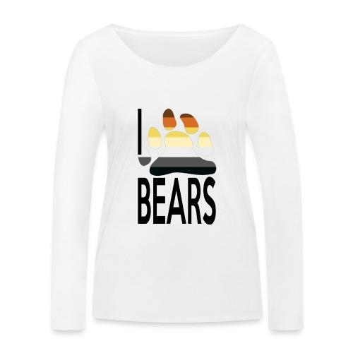 I love bears - T-shirt manches longues bio Stanley & Stella Femme