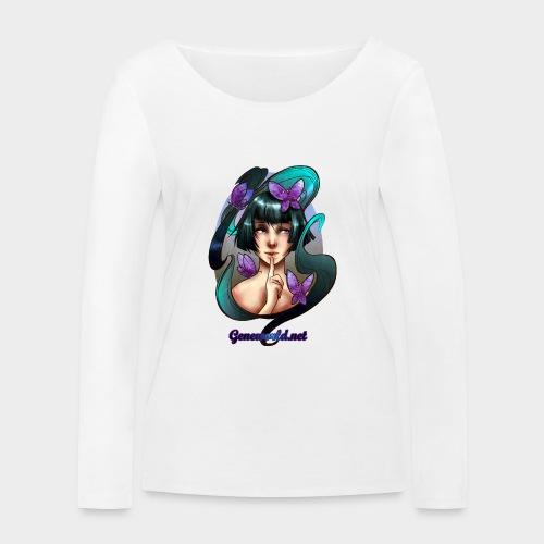 Geneworld - Papillons - T-shirt manches longues bio Stanley & Stella Femme