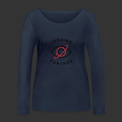 Looking Farther - White - Women's Organic Longsleeve Shirt by Stanley & Stella