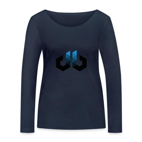digitalbits Logo - Frauen Bio-Langarmshirt von Stanley & Stella