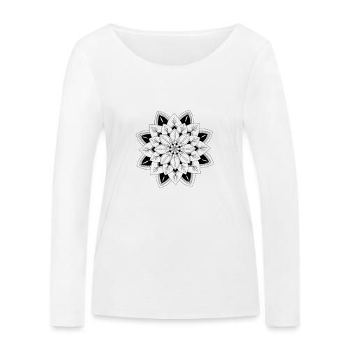 Mandala interior - Camiseta de manga larga ecológica mujer de Stanley & Stella