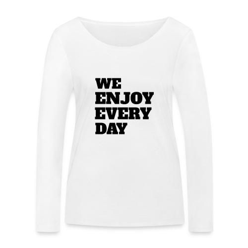 Enjoy - T-shirt manches longues bio Stanley & Stella Femme