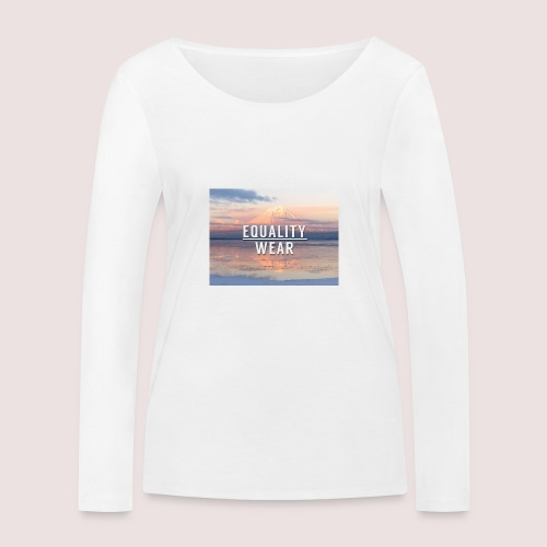 Mountain Equality Edition - Women's Organic Longsleeve Shirt by Stanley & Stella