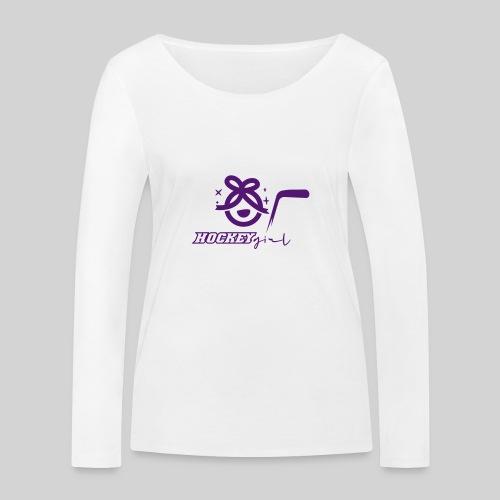 Hockey Girl II - Frauen Bio-Langarmshirt von Stanley & Stella
