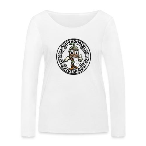 basico circulo - Camiseta de manga larga ecológica mujer de Stanley & Stella