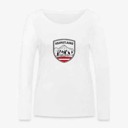 hoamatlaund österreich - Frauen Bio-Langarmshirt von Stanley & Stella