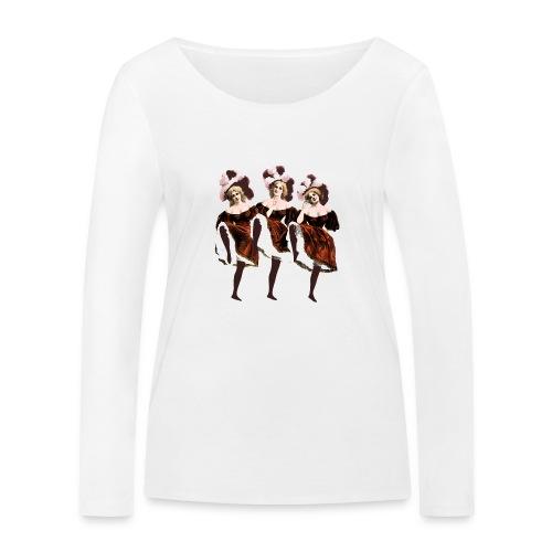 Vintage Dancers - Women's Organic Longsleeve Shirt by Stanley & Stella