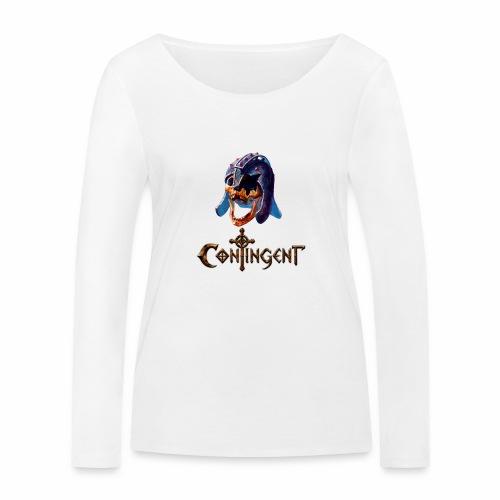 Contignent Logo - Women's Organic Longsleeve Shirt by Stanley & Stella
