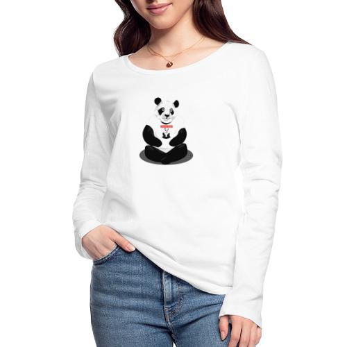 panda hd - T-shirt manches longues bio Stanley & Stella Femme