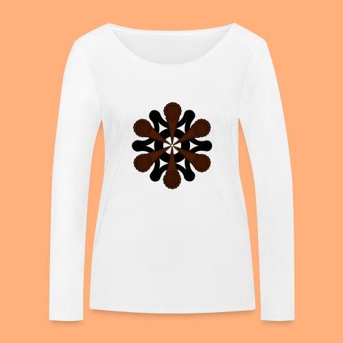 vortex - T-shirt manches longues bio Stanley & Stella Femme