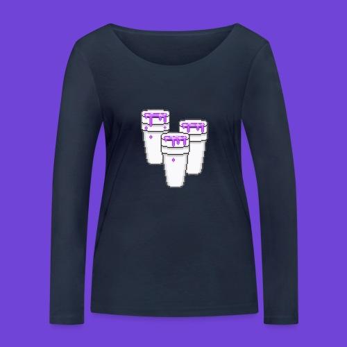 Purple - Maglietta a manica lunga ecologica da donna di Stanley & Stella