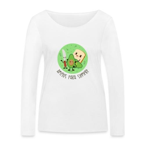 Amigos para siempre - Camiseta de manga larga ecológica mujer de Stanley & Stella