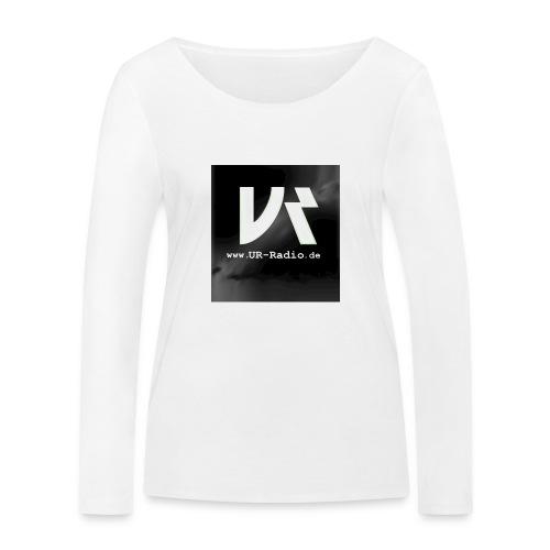 logo spreadshirt - Frauen Bio-Langarmshirt von Stanley & Stella