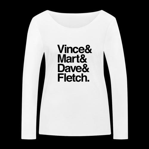 DM Depech Mode Original Lineup - Ekologisk långärmad T-shirt dam från Stanley & Stella