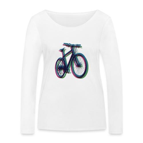 Bike Fahrrad bicycle Outdoor Fun Mountainbike - Women's Organic Longsleeve Shirt by Stanley & Stella