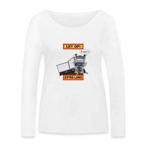 0323 extra lang - Vrouwen bio shirt met lange mouwen van Stanley & Stella